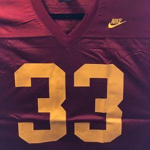 USC Football Jersey #33 White